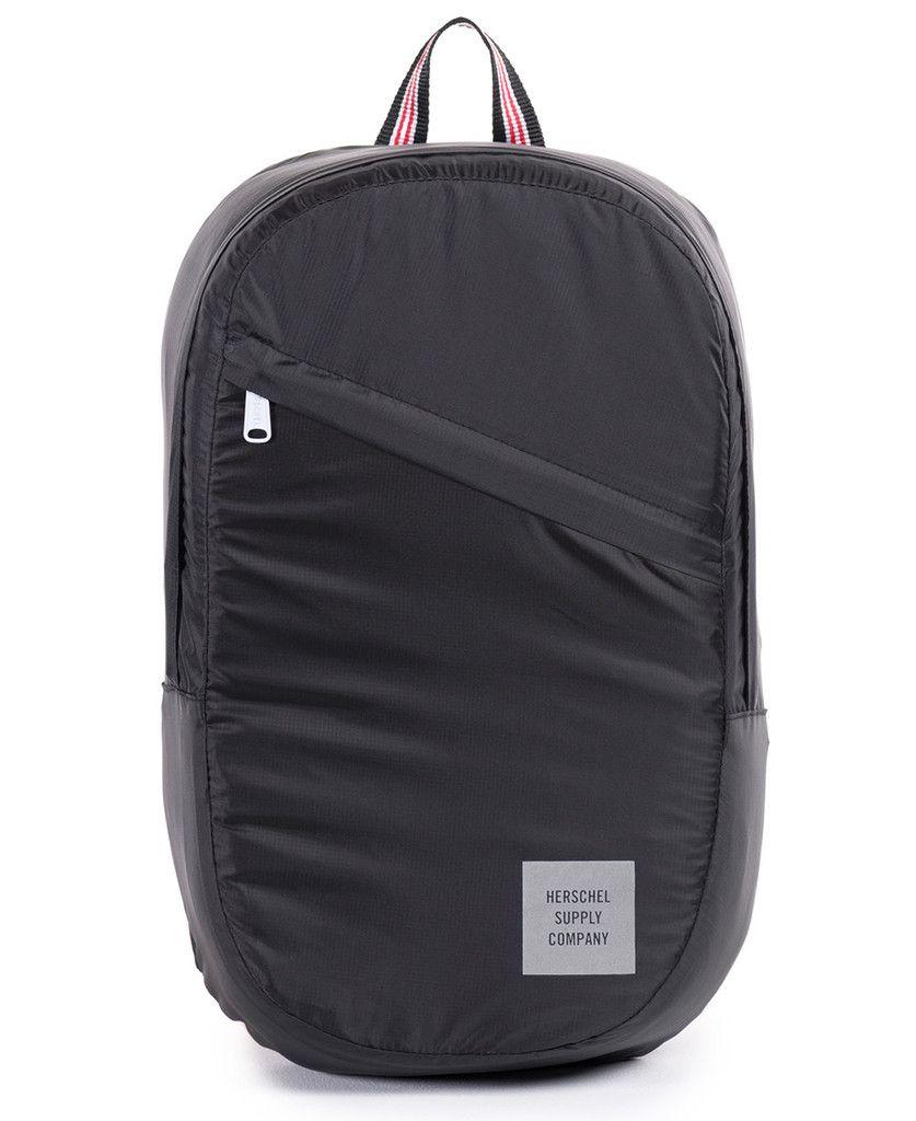Herschel Supply Co. - Packable Daypack (Black Multi Zip ... aa8ee69fb5