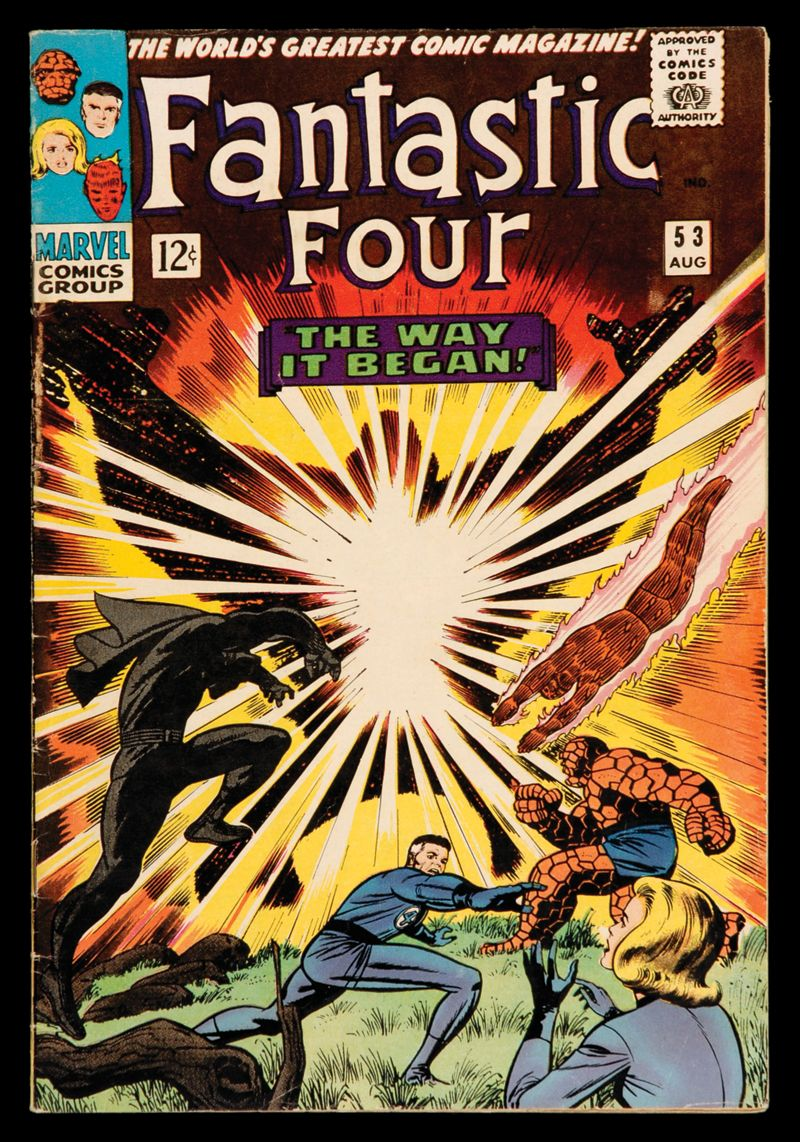 """fantastic four covers silver age 