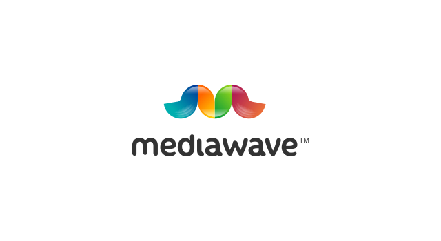 Mediawave Logo Design Logo Design For An Advertising Firm Logo Is A Clever Combination Of An M And Waves Au Identity Design Logo Branding Agency Branding