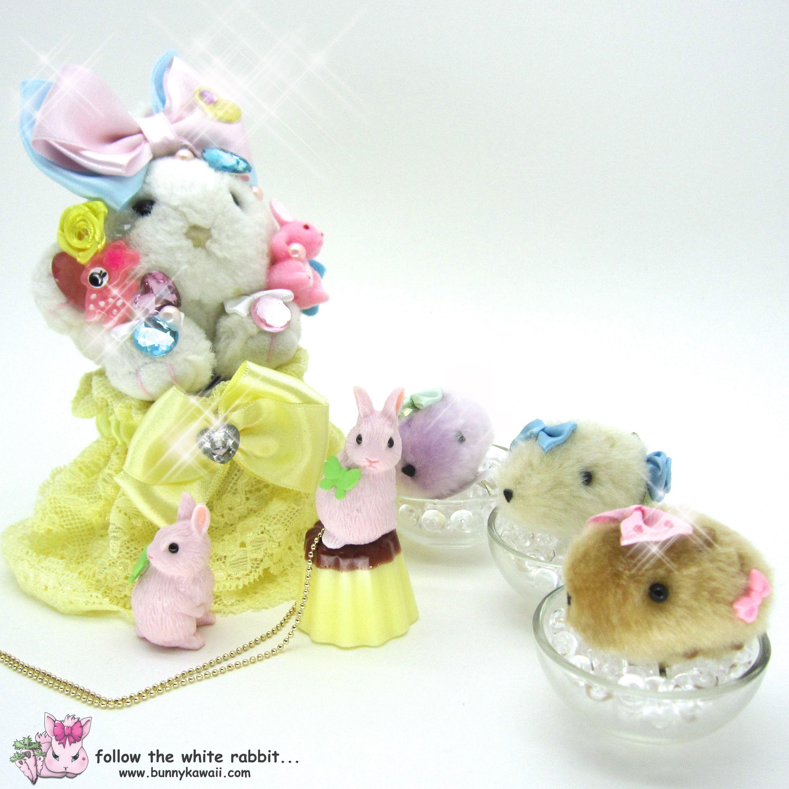 sweet lolita - fairy kei - harajuku jewelry & accessories by Follow the white rabbit...  <3 www.bunnykawaii.com