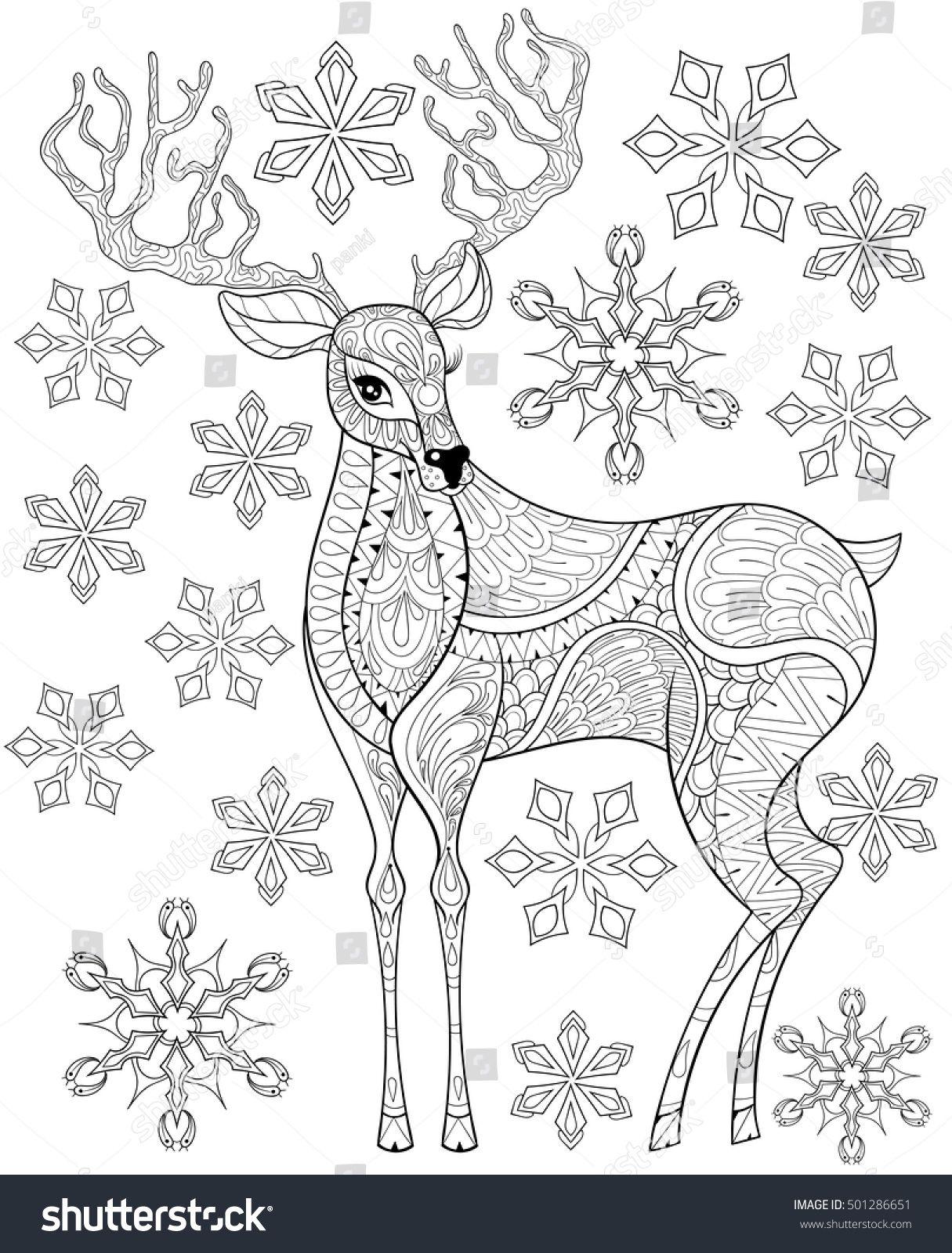 Image Result For Christmas Color Pages For Adults Weihnachtsmalvorlagen Mandala Malvorlagen Weihnachten Zum Ausmalen