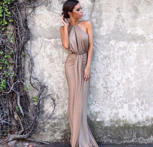 Bronx and Banco Monaco gown Bridesmaids idea