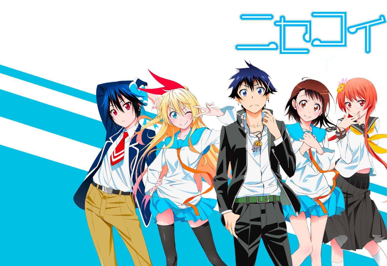 Animax Cartoon Wallpaper nisekoi (s1, 3 ovas, s2, | nisekoi wallpaper, nisekoi, anime