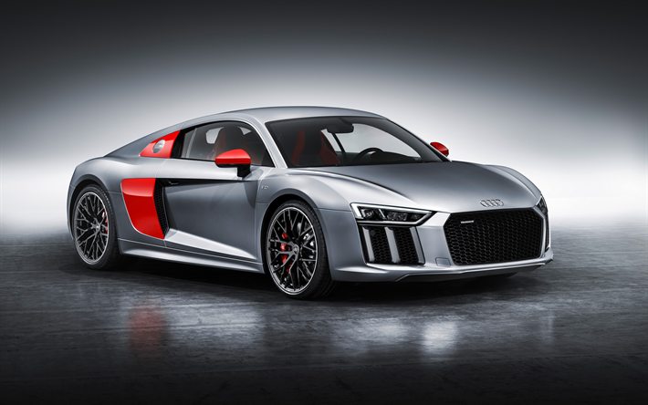 Superior Download Wallpapers Audi R8 Coupe Audi Sport Edition, 2018 Cars, Supercars,  Audi R8