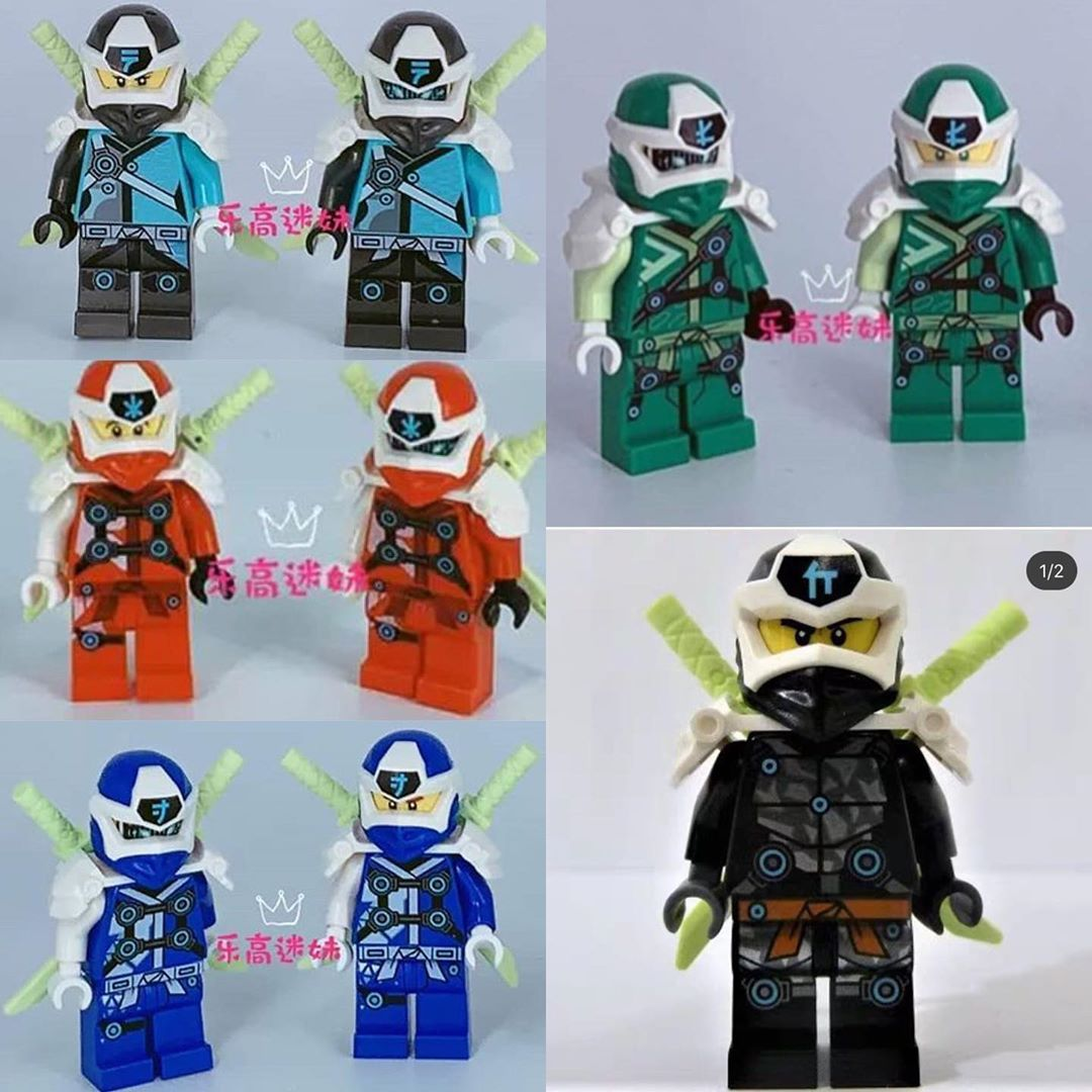 All The Ninjago Season 12 Suits Which One Is Your Favorite