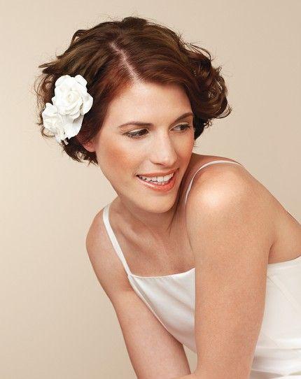 Inspirationen: Frisuren für kurze Haare - weddingstyle.de