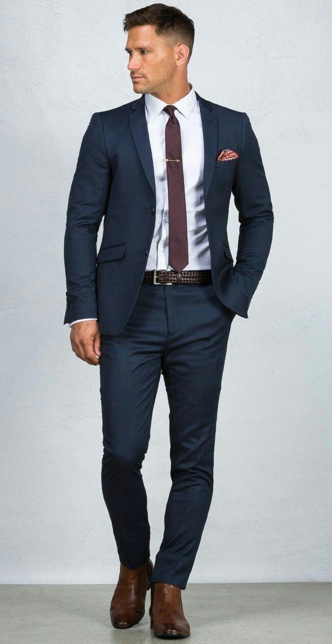 Blue suit men, Men suits blue, Mens outfits