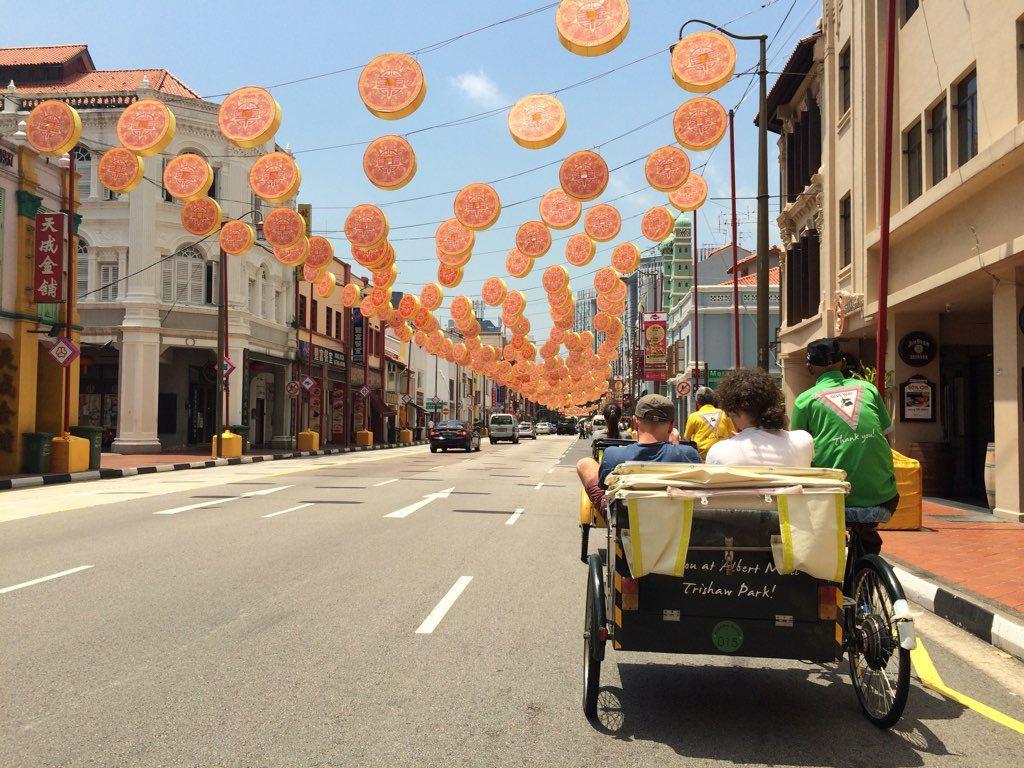 Trishaw a Chinatown, #Singapore