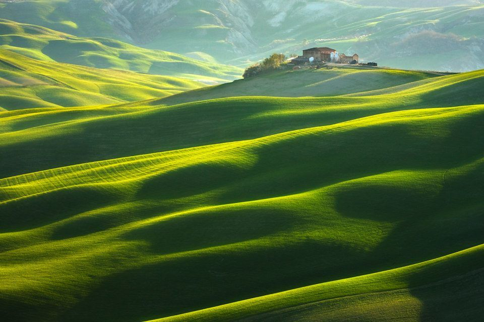 Beautiful Green Grass Hills Green Pinterest Grasses - The mesmerising beauty of moravian fields photographed by marcin sobas