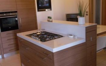 Piano cottura isola con tavolo estraibile | Cucine | Pinterest | Cucina