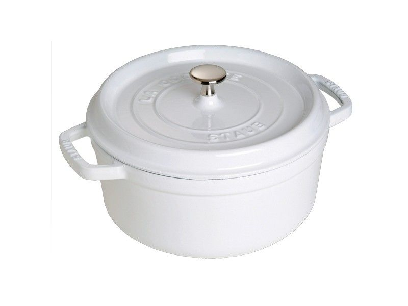 Whauw... witte gietijzeren pan van Staub! http://www.orcacool.nl/search.php?search=staub