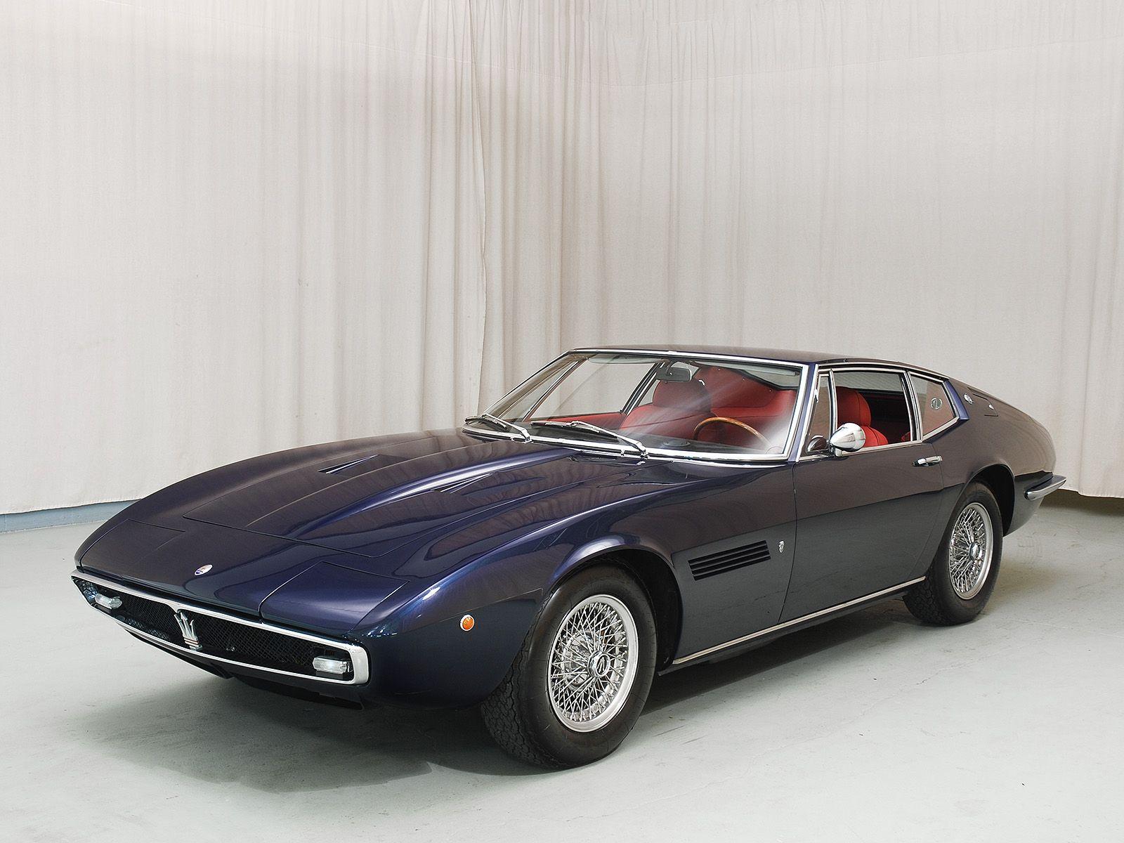 1970 maserati ghibli 4 9ss coupe