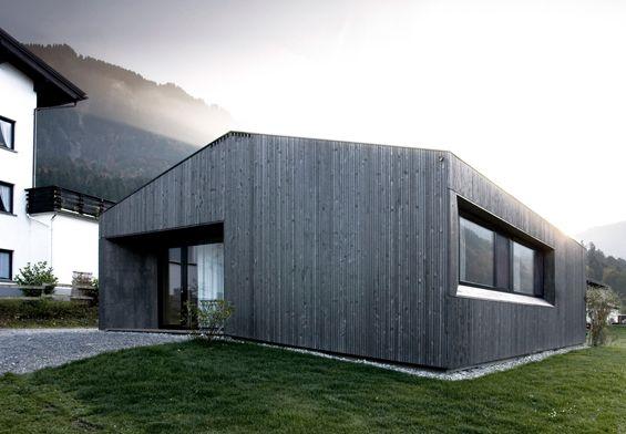 Sven Matt Architekts  Maison à Mellau Autriche, Petite maison et - construire une maison ecologique