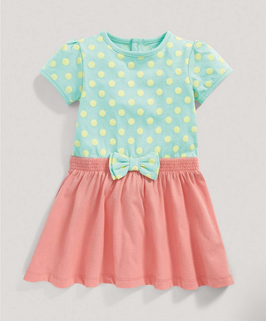 Mamas /& Papas Baby Girls Floral Jersey Dress