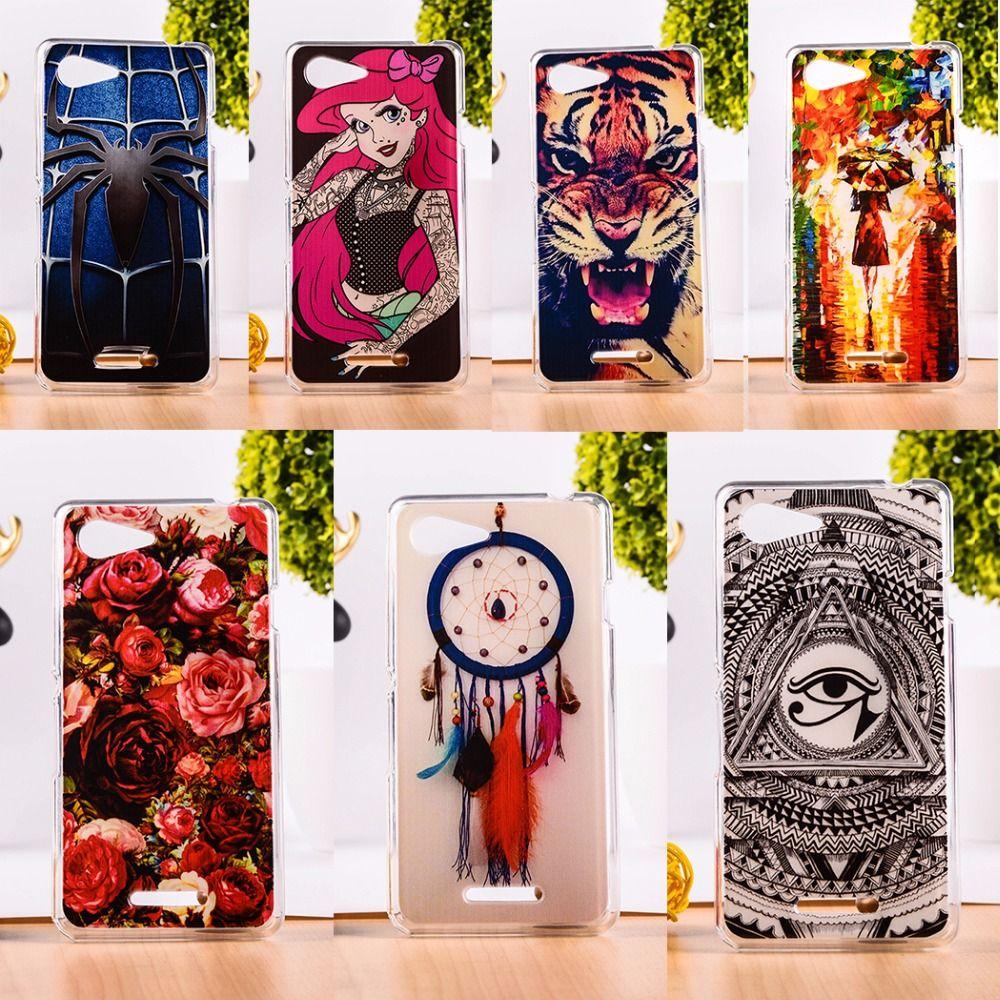 promo code d5303 a18e8 Soft TPU Mobile Phone Case For Sony Xperia E3 Dual D2203 D2243 6.1 ...