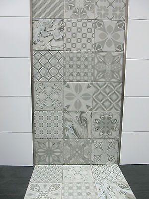 Dekor Bodenfliesen 20 X 20cm Mosaik Muster Fliesen Fuer Wand Boden Castelo U2026