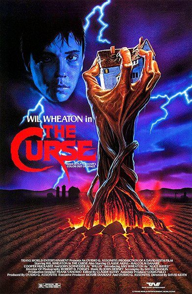 Granja maldita (The Curse - 1987) - Movie Poster | Cine de terror ...