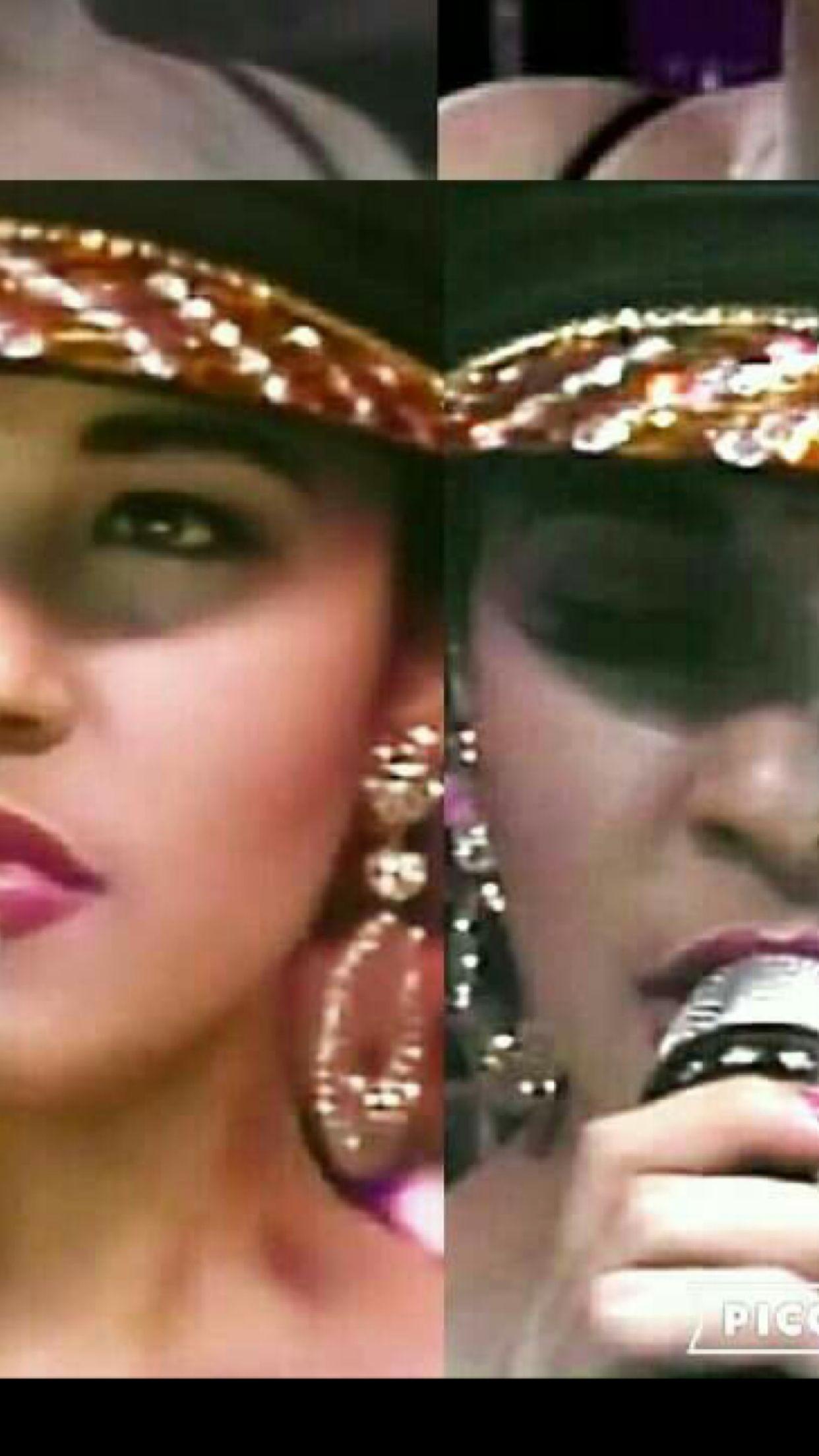 ba4dfd718e1 Selena Quintanilla hoop earrings