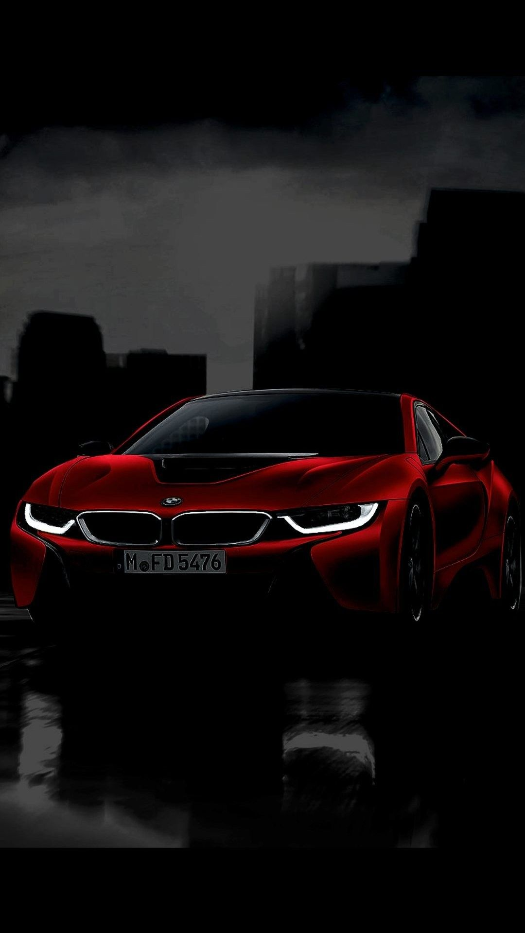 bmw i8 red black wallpaper 1080x1920 | bmw | pinterest | black