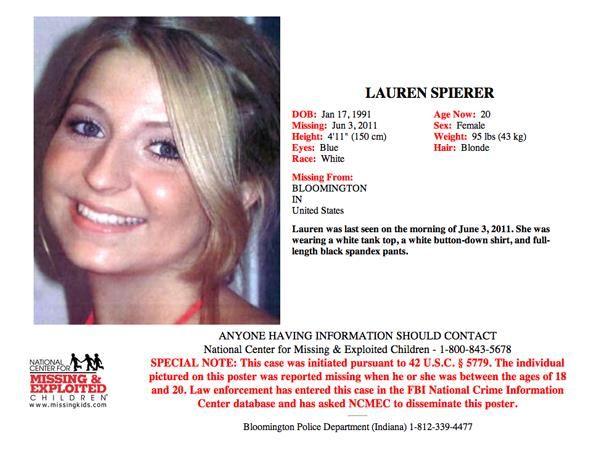 Where Are They Lauren Spierer Investigation With Linda Crystal Linda Blog Talk Radio Lauren