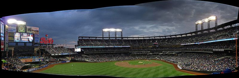 41 Photo Citi Field April Night Game Panoramic Willets Point New York With Images Sports Arena Baseball Stadium Sports Stadium