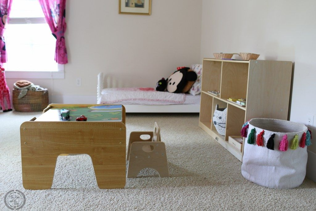 Montessori Toddler Bedroom on A Budget images