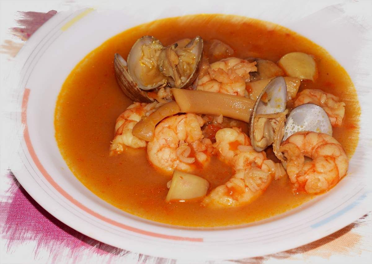 Sopa De Mariscos Rapida Sopa De Mariscos Mariscos Mariscos