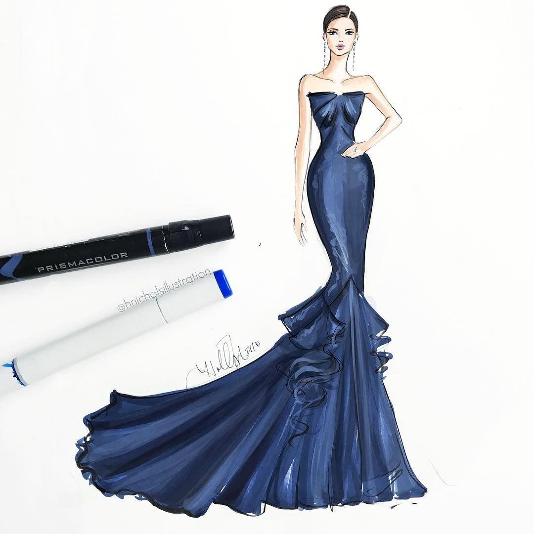 Fashion sketches formal 2017