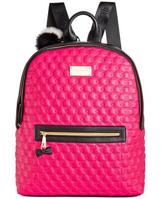 3f3c225abe Betsey Johnson  Backpack - Backpacks   Accessories -  BackToSchool -  Macy s