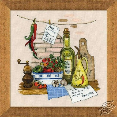 Still Life with Pepper - Cross Stitch Craft Kits by RIOLIS - 1304