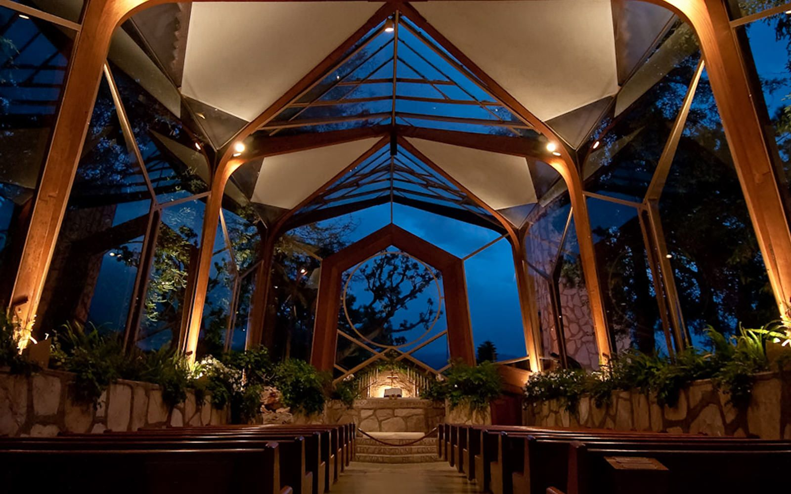 Wayfarers Chapel Best Beach Wedding Locations Los Angeles Area Small Venue Southern