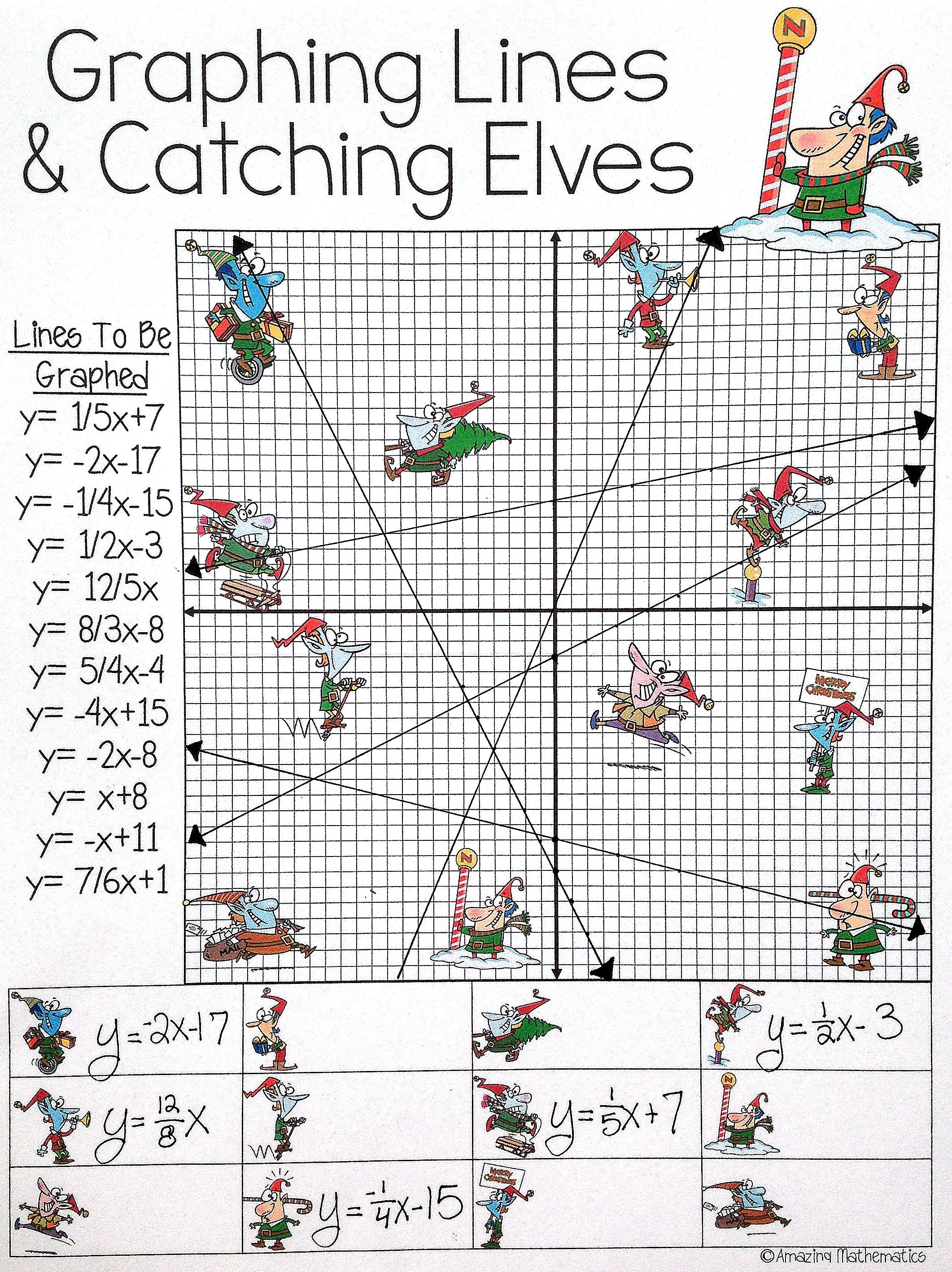 medium resolution of I did this Christmas activity with my Math students last year and they  loved it! It was the perfect …   Christmas math activities
