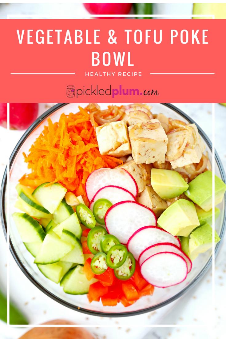 Vegetable tofu poke bowl bring a hawaiian breeze into your vegetable tofu poke bowl bring a hawaiian breeze into your kitchen with this vibrant healthy food recipestofu forumfinder Image collections