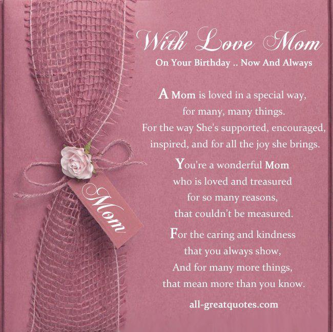 Free Birthday Cards For Mother Mum Birthday Cards Mom Birthday Cards Birthday Wishes For Mom Birthday Card Sayings Birthday Cards For Mother