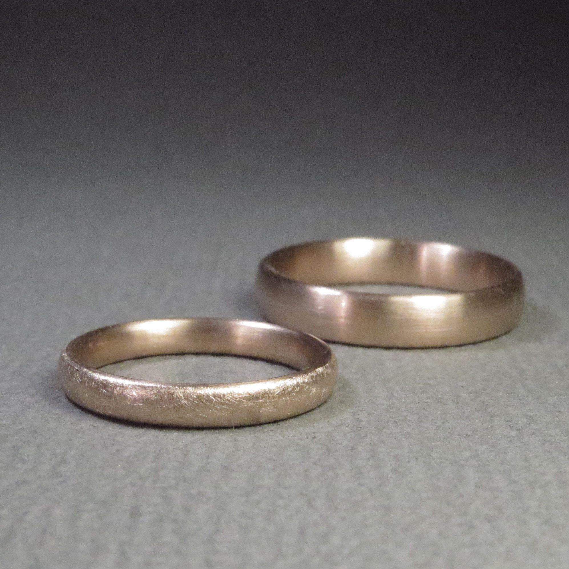MATT & EISMATT Eheringe in Rotgold  Wedding rings, Rings, Rings