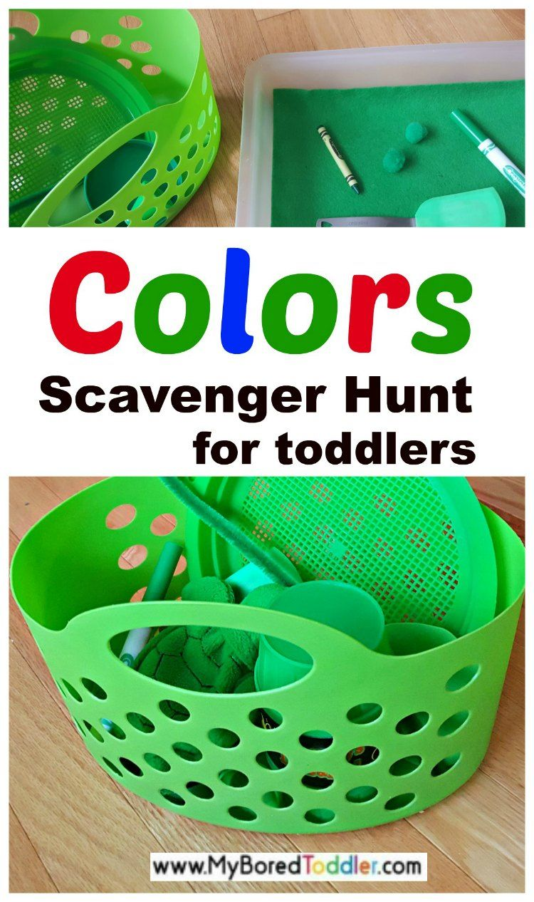 Color Recognition Scavenger Hunt | Activities, Teaching colors and ...