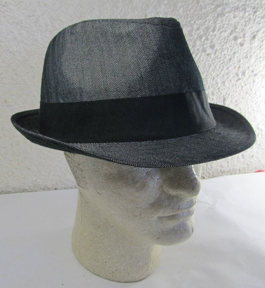 All American Stetson Fedora Hat XX Large Charcoal Gray  a7b0b30603d