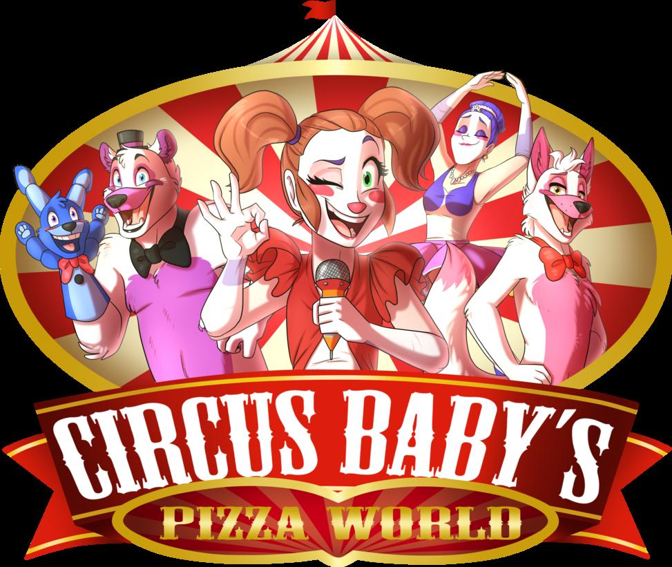 Five Nights At Freddy S Circus Baby Wallpaper Fnafng Circus Baby S Pizza World By Namygaga Circus Baby Baby Pizza Fnaf Baby