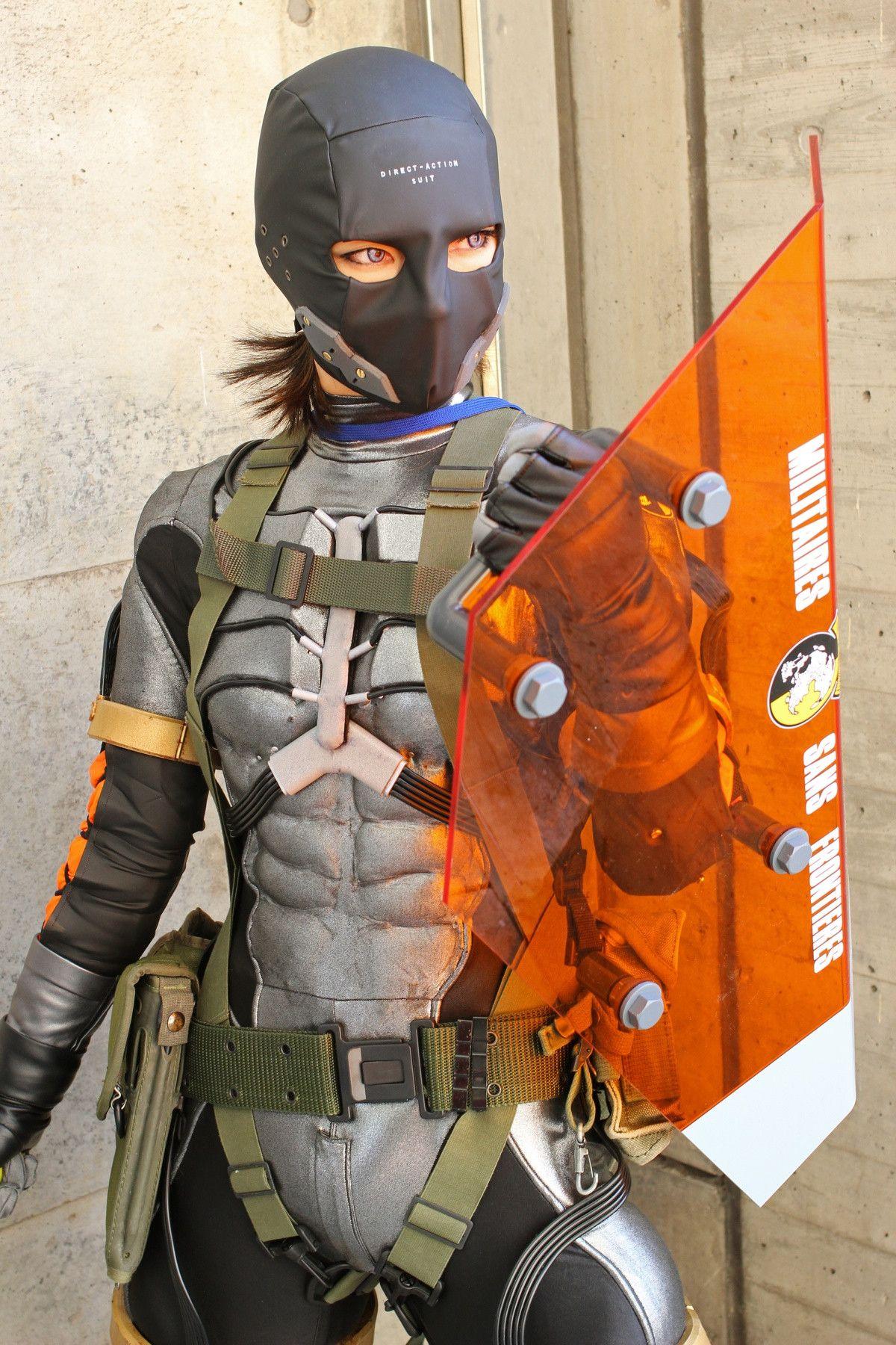 Msf Soldier From Metal Gear Solid Cosplay Neue Wege Apokalypse
