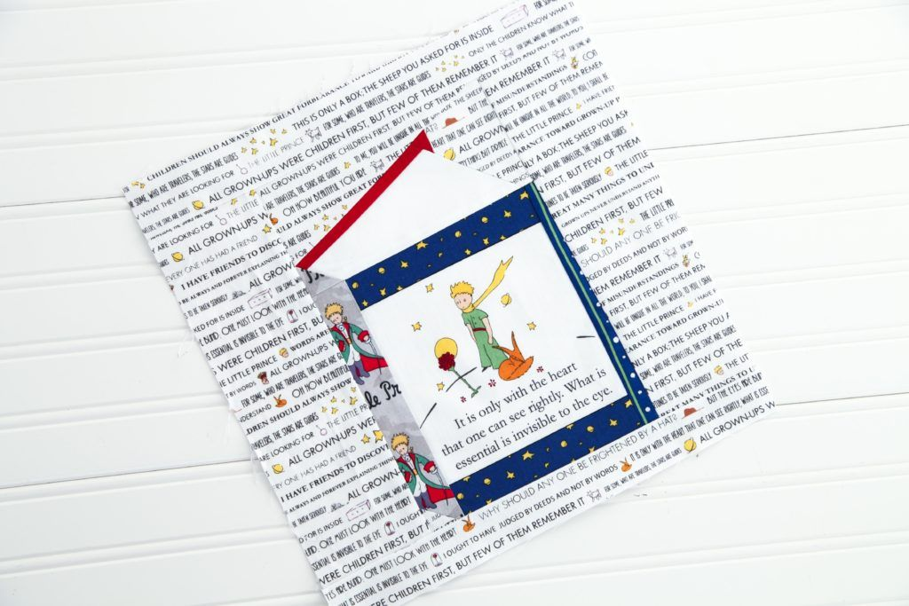 Rbd Literature Series The Little Prince The Little Prince Paper Piecing Foundation Paper Piecing