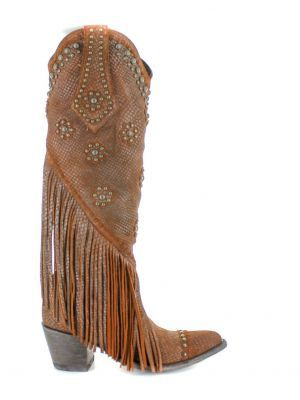 7a97aad41 Old Gringo Women's Savannah Tall L3089-1   old fringe boots in 2019 ...