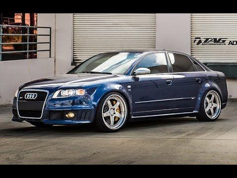 Audi RS4 on ADV.1 Wheels