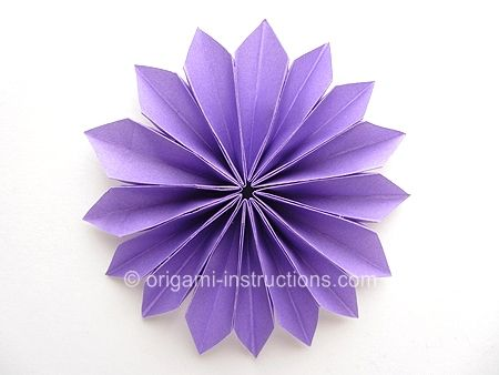 Cute Oragami Flower You Have To Make Lots Of Petals Though To Make
