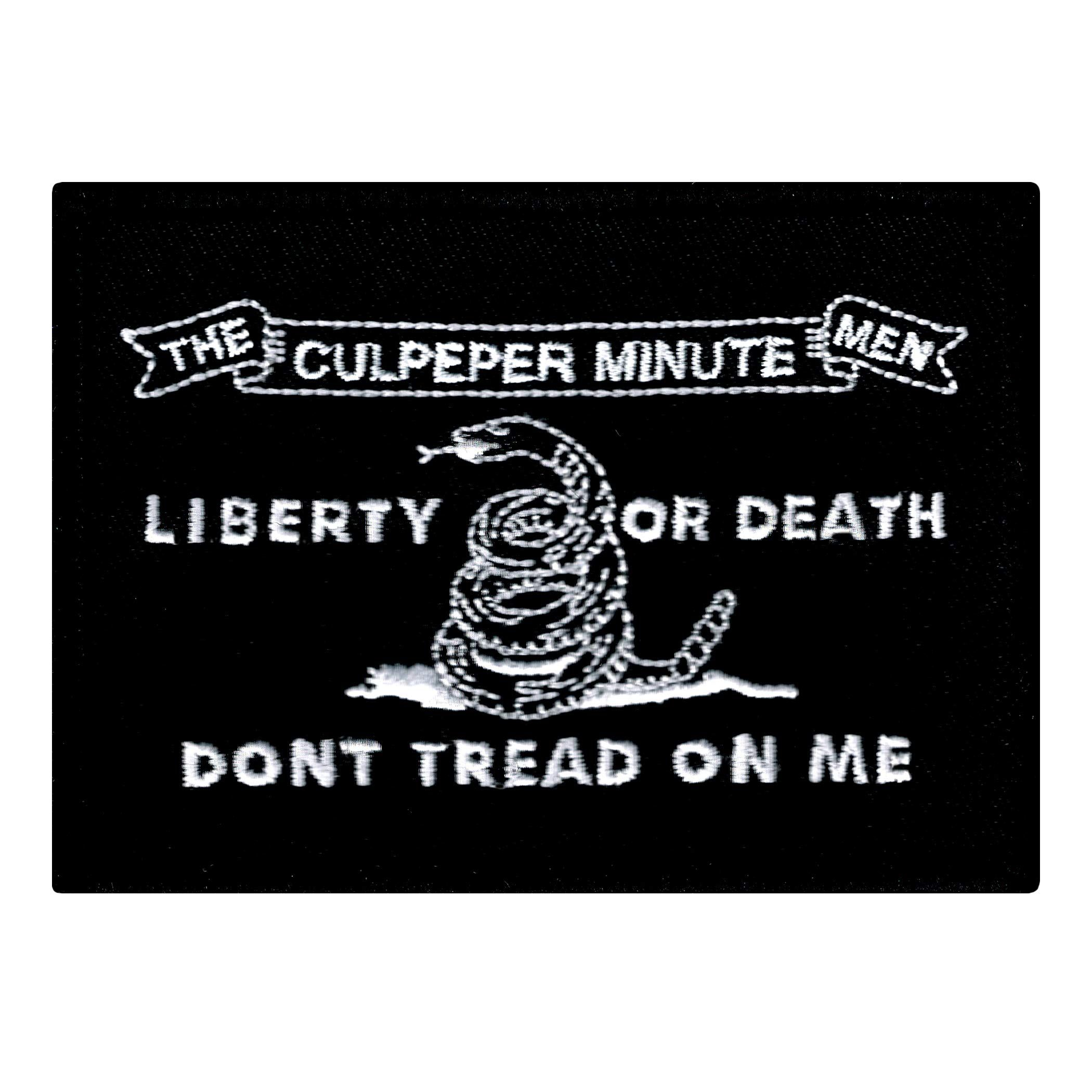 Culpeper Minutemen Black Embroidered American Flag Patch Iron On Usa See Buy Option Now The Price May Have Chan In 2020 American Flag Patch Flag Patches American Flag