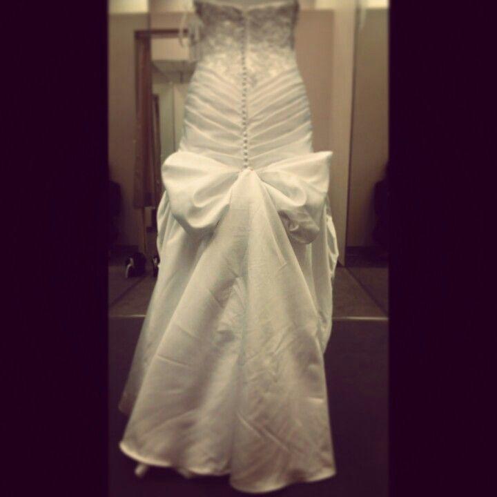 Bow Bustle By Brklyn Apparel Wedding Dress Bustle Hi Low Wedding Dress Sewing Wedding Dress