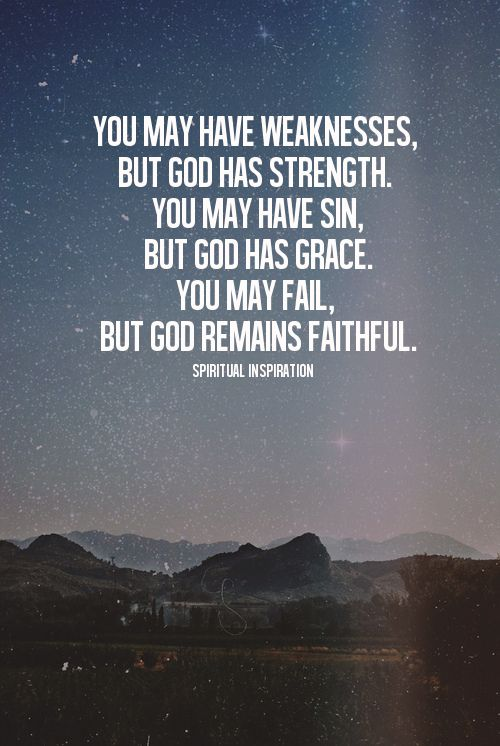 You May Fail But God Remains Faithful Gods Promises Spiritual
