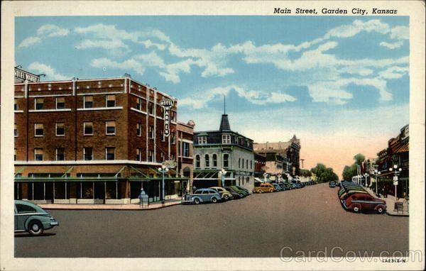 Vintage Garden City Kansas Vintage Postcards Images Garden City
