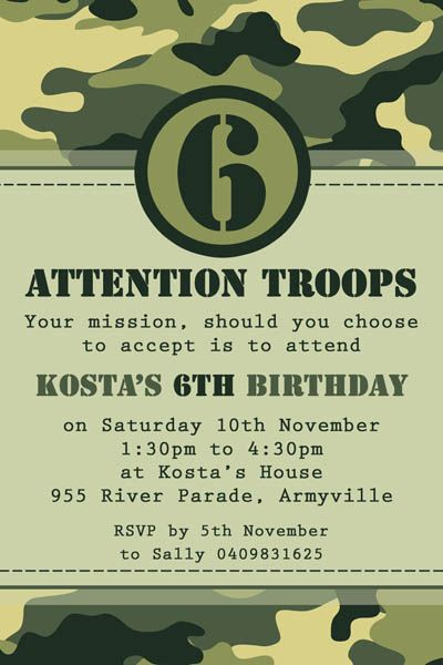 greatfun4kids: army party free printables for drinks (soda and, Birthday invitations