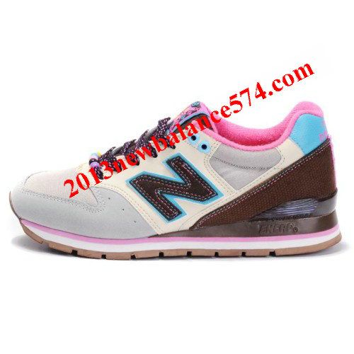 New Balance 996 Shoes White/Gainsboro/Marron/Violet new balance factory outletcheap new balance shoesentire collection