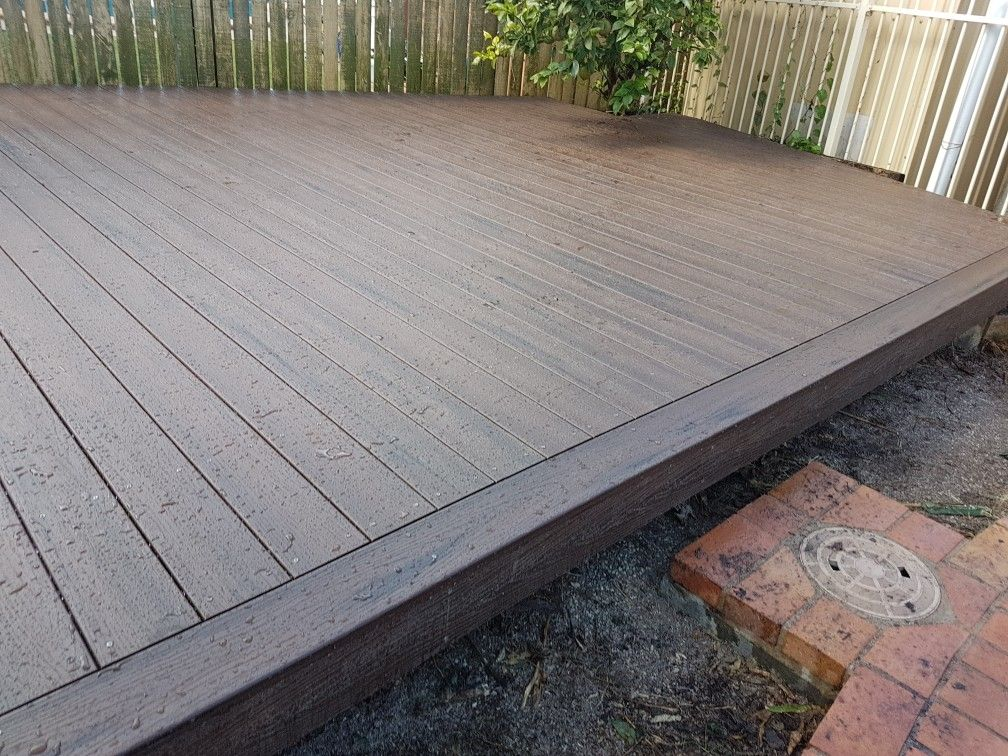 Pool Deck Brisbane Modwood Blackbean Deck Diy Deck Building A Deck Deck Design Plans